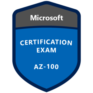 AZ-100 Certification Badge
