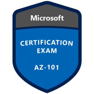AZ-101 Certification Badge