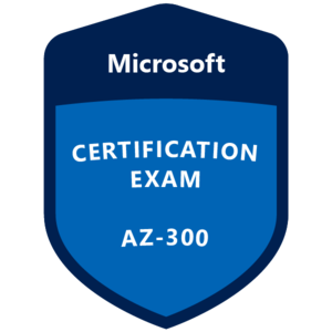 AZ-300 Certification Badge