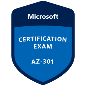 AZ-301 Certification Badge
