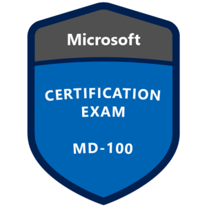 MD-100 Certification Badge