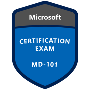 MD-100 Exam Badge